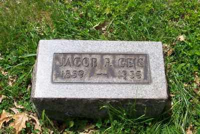 GEIS, JACOB P. - Stark County, Ohio | JACOB P. GEIS - Ohio Gravestone Photos