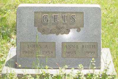GEIS, LOUIS A. - Stark County, Ohio | LOUIS A. GEIS - Ohio Gravestone Photos