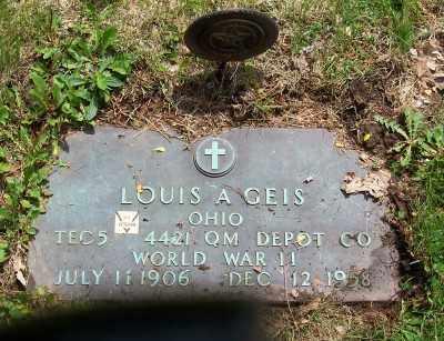 GEIS, LOUIS A. - Stark County, Ohio | LOUIS A. GEIS - Ohio Gravestone Photos