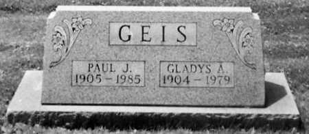 GEIS, PAUL J. - Stark County, Ohio | PAUL J. GEIS - Ohio Gravestone Photos