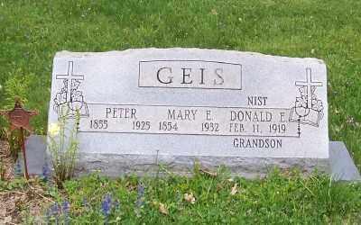 GREENFELDER GEIS, MARY E. - Stark County, Ohio | MARY E. GREENFELDER GEIS - Ohio Gravestone Photos