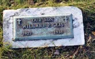 GEIS, WILLARD P. - Stark County, Ohio | WILLARD P. GEIS - Ohio Gravestone Photos