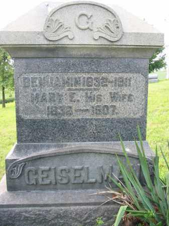 GEISELMAN, BENJAMIN - Stark County, Ohio   BENJAMIN GEISELMAN - Ohio Gravestone Photos