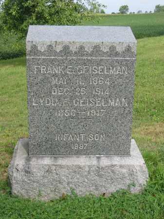 GEISELMAN, LYDIA E - Stark County, Ohio | LYDIA E GEISELMAN - Ohio Gravestone Photos