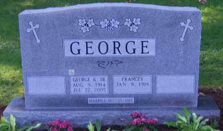 GEORGE, FRANCES - Stark County, Ohio | FRANCES GEORGE - Ohio Gravestone Photos