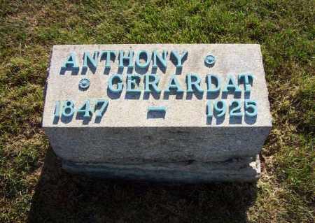 GERARDAT, ANTHONY - Stark County, Ohio | ANTHONY GERARDAT - Ohio Gravestone Photos