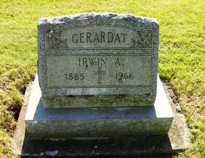 GERARDAT, IRWIN A. - Stark County, Ohio   IRWIN A. GERARDAT - Ohio Gravestone Photos