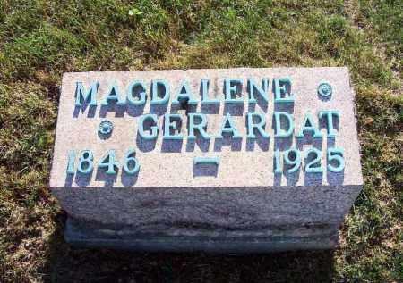 SCHILLIG GERARDAT, MAGDALENE - Stark County, Ohio | MAGDALENE SCHILLIG GERARDAT - Ohio Gravestone Photos