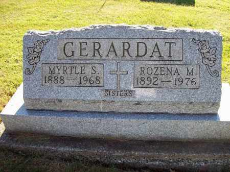 GERARDAT, MYRTLE S. - Stark County, Ohio | MYRTLE S. GERARDAT - Ohio Gravestone Photos