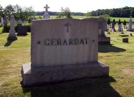 GERARDAT MONUMENT, FAMILY - Stark County, Ohio | FAMILY GERARDAT MONUMENT - Ohio Gravestone Photos