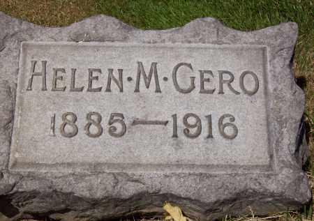GERO, HELEN M. - Stark County, Ohio   HELEN M. GERO - Ohio Gravestone Photos