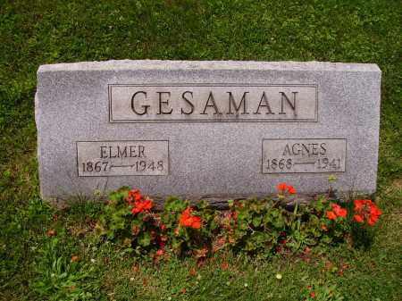 GESAMAN, ELMER - Stark County, Ohio | ELMER GESAMAN - Ohio Gravestone Photos