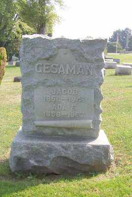 GESAMAN, JACOB AND ADA F. - Stark County, Ohio | JACOB AND ADA F. GESAMAN - Ohio Gravestone Photos