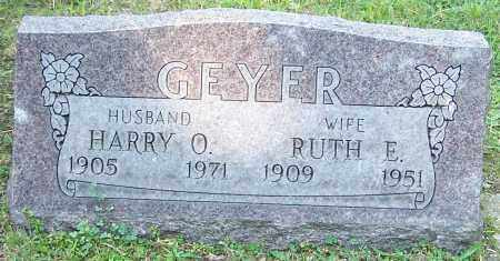 GEYER, RUTH E. - Stark County, Ohio | RUTH E. GEYER - Ohio Gravestone Photos