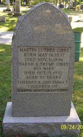 GIBBS, MARTIN LUTHER - Stark County, Ohio   MARTIN LUTHER GIBBS - Ohio Gravestone Photos