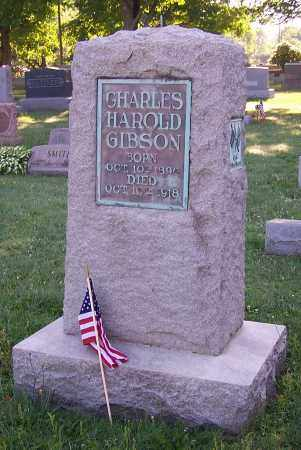 GIBSON, CHARLES HAROLD  (1) - Stark County, Ohio | CHARLES HAROLD  (1) GIBSON - Ohio Gravestone Photos