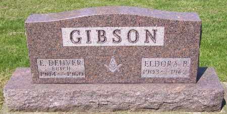 GIBSON, ELDORA B. - Stark County, Ohio | ELDORA B. GIBSON - Ohio Gravestone Photos
