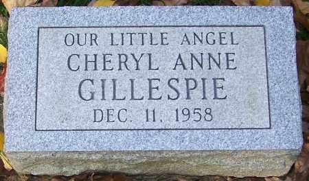GILLESPIE, CHERYL ANNE - Stark County, Ohio | CHERYL ANNE GILLESPIE - Ohio Gravestone Photos