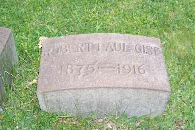 GISE, ROBERT PAUL - Stark County, Ohio   ROBERT PAUL GISE - Ohio Gravestone Photos