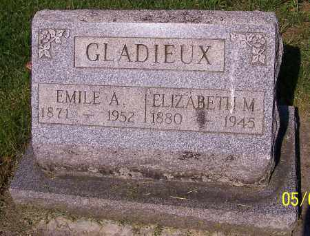 GLADIEUX, EMILE A. - Stark County, Ohio | EMILE A. GLADIEUX - Ohio Gravestone Photos