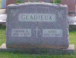 GLADIEUX, FRANK ALFRED - Stark County, Ohio | FRANK ALFRED GLADIEUX - Ohio Gravestone Photos
