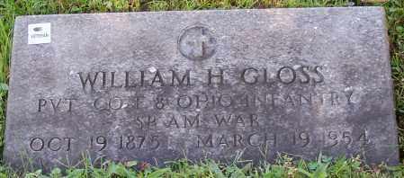 GLOSS, WILLIAM H. - Stark County, Ohio | WILLIAM H. GLOSS - Ohio Gravestone Photos