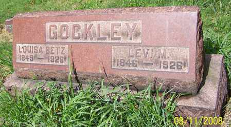 BETZ GOCKLEY, LOUISA BETZ - Stark County, Ohio | LOUISA BETZ BETZ GOCKLEY - Ohio Gravestone Photos