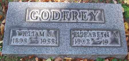GODFREY, WILLIAM J. - Stark County, Ohio | WILLIAM J. GODFREY - Ohio Gravestone Photos