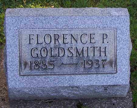 GOLDSMITH, FLORENCE P. - Stark County, Ohio | FLORENCE P. GOLDSMITH - Ohio Gravestone Photos
