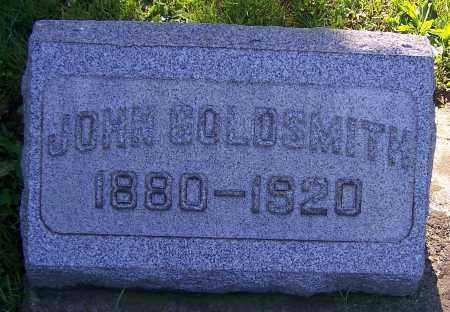 GOLDSMITH, JOHN - Stark County, Ohio | JOHN GOLDSMITH - Ohio Gravestone Photos