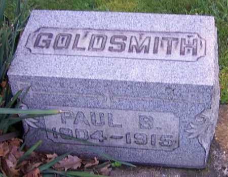 GOLDSMITH, PAUL B. - Stark County, Ohio | PAUL B. GOLDSMITH - Ohio Gravestone Photos