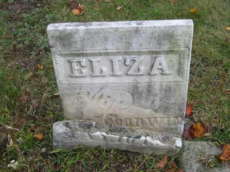 GOODWIN, ELIZA - Stark County, Ohio   ELIZA GOODWIN - Ohio Gravestone Photos
