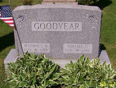 GOODYEAR, JENNINGS B. - Stark County, Ohio | JENNINGS B. GOODYEAR - Ohio Gravestone Photos