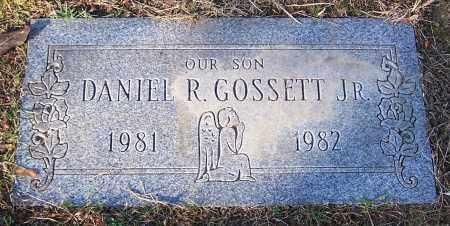 GOSSETT, DANIEL R.  JR. - Stark County, Ohio   DANIEL R.  JR. GOSSETT - Ohio Gravestone Photos