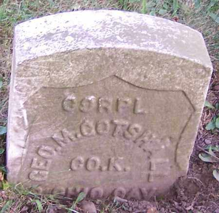 GOTSHALL, GEO.M. - Stark County, Ohio | GEO.M. GOTSHALL - Ohio Gravestone Photos