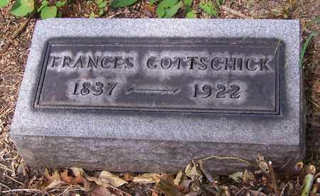 GOTTSCHICK, FRANCES - Stark County, Ohio | FRANCES GOTTSCHICK - Ohio Gravestone Photos