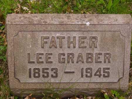 "GRABER, LEANDER ""LEE"" - Stark County, Ohio | LEANDER ""LEE"" GRABER - Ohio Gravestone Photos"