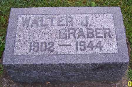 GRABER, WALTER J. - Stark County, Ohio   WALTER J. GRABER - Ohio Gravestone Photos