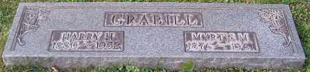 GRABILL, HARRY H. - Stark County, Ohio | HARRY H. GRABILL - Ohio Gravestone Photos