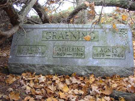 GRAENING, AGNES - Stark County, Ohio | AGNES GRAENING - Ohio Gravestone Photos
