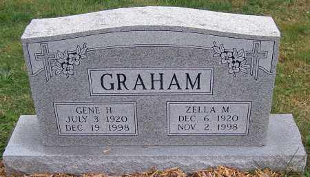 GRAHAM, ZELLA M. - Stark County, Ohio | ZELLA M. GRAHAM - Ohio Gravestone Photos