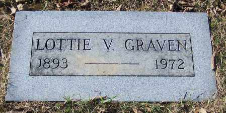 GRAVEN, LOTTIE V. - Stark County, Ohio | LOTTIE V. GRAVEN - Ohio Gravestone Photos