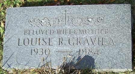GRAVILA, LOUISE R. - Stark County, Ohio   LOUISE R. GRAVILA - Ohio Gravestone Photos
