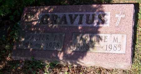 GRAVIUS, ARLENE M. - Stark County, Ohio | ARLENE M. GRAVIUS - Ohio Gravestone Photos