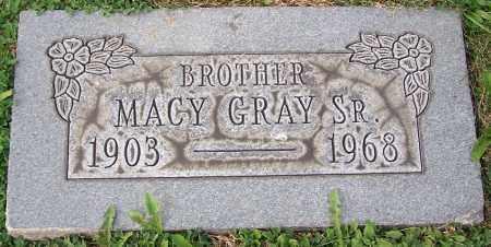 GRAY, MACY (SR) - Stark County, Ohio | MACY (SR) GRAY - Ohio Gravestone Photos