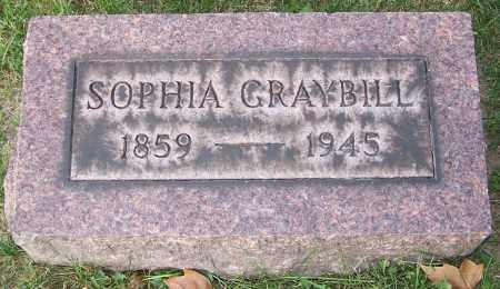 GRAYBILL, SOPHIA - Stark County, Ohio | SOPHIA GRAYBILL - Ohio Gravestone Photos