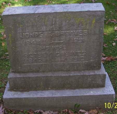 GREAVES, BETSEY - Stark County, Ohio | BETSEY GREAVES - Ohio Gravestone Photos