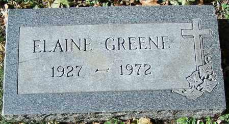 GREENE, ELAINE - Stark County, Ohio | ELAINE GREENE - Ohio Gravestone Photos