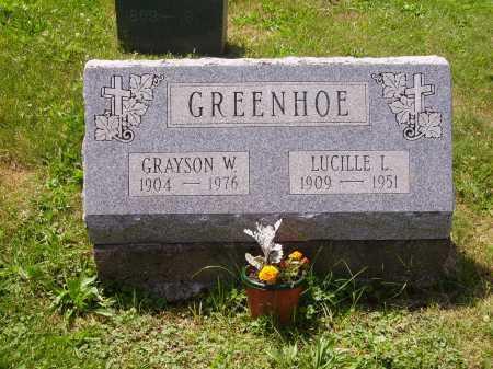 GRENNHOE, LUCILLE L. - Stark County, Ohio | LUCILLE L. GRENNHOE - Ohio Gravestone Photos