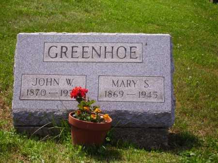 CLAPPER GREENHOE, MARY SEBINA - Stark County, Ohio | MARY SEBINA CLAPPER GREENHOE - Ohio Gravestone Photos